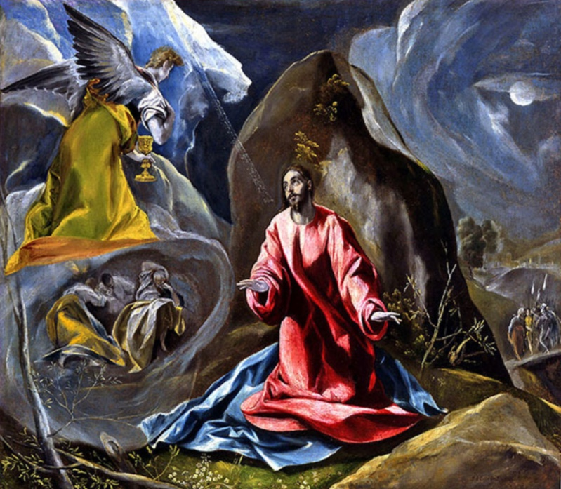 The Agony in the Garden, El Greco.