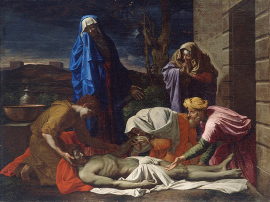 The Entombment, Nicolas Poussin.