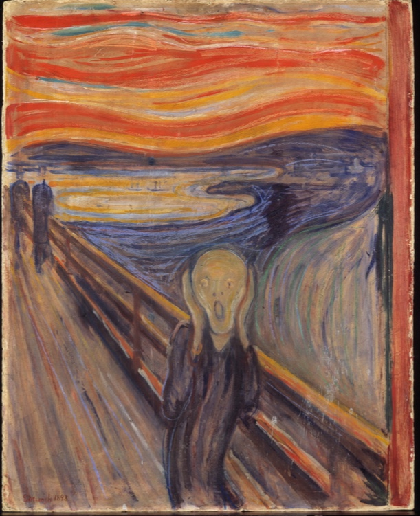 Edvard Munch, The Scream, 1893