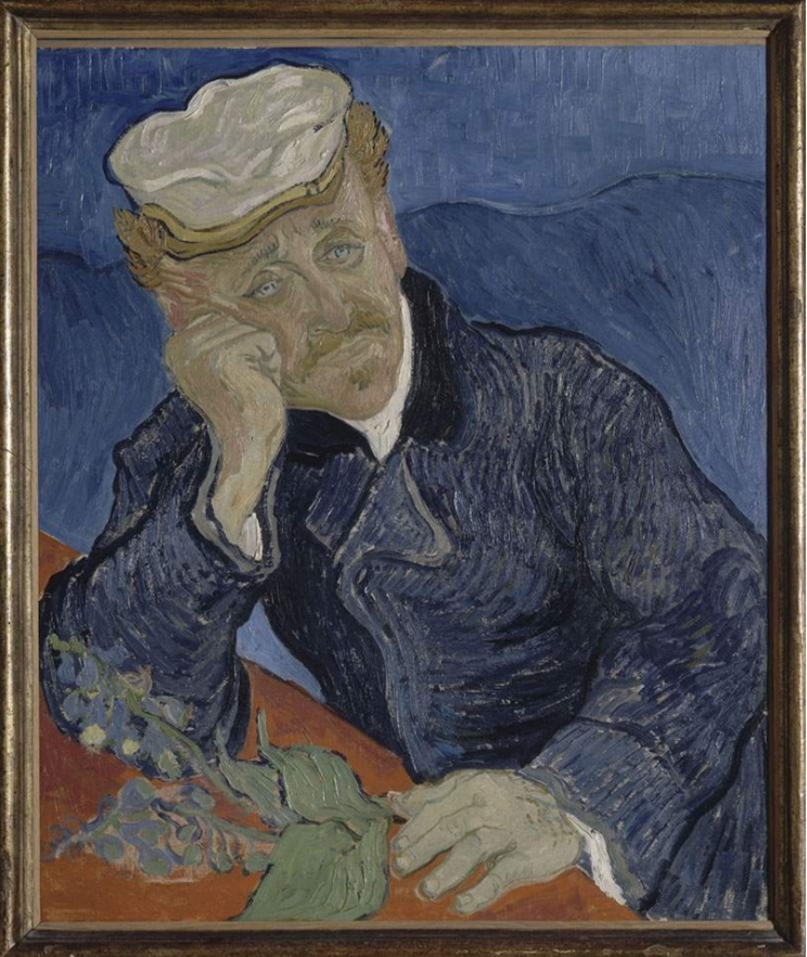 Vincent Van Gogh, Portrait of Dr. Gachet, June 1890